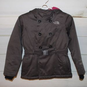 North Face 550 Down Double Breasted Coat